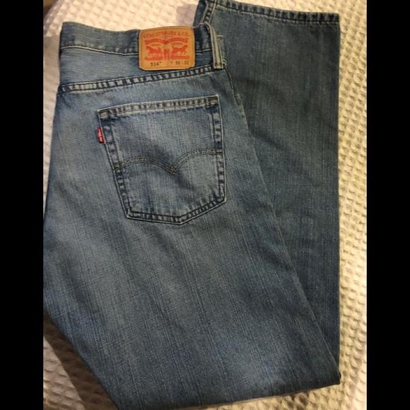 e51b09ed4d0 Levi's Jeans | Levis 514 Straight 100 Cotton Size 36x32 | Poshmark
